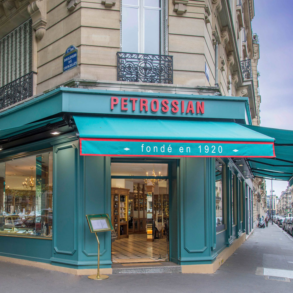 Petrossian Courcelles Right Bank Boutique: address & opening hours