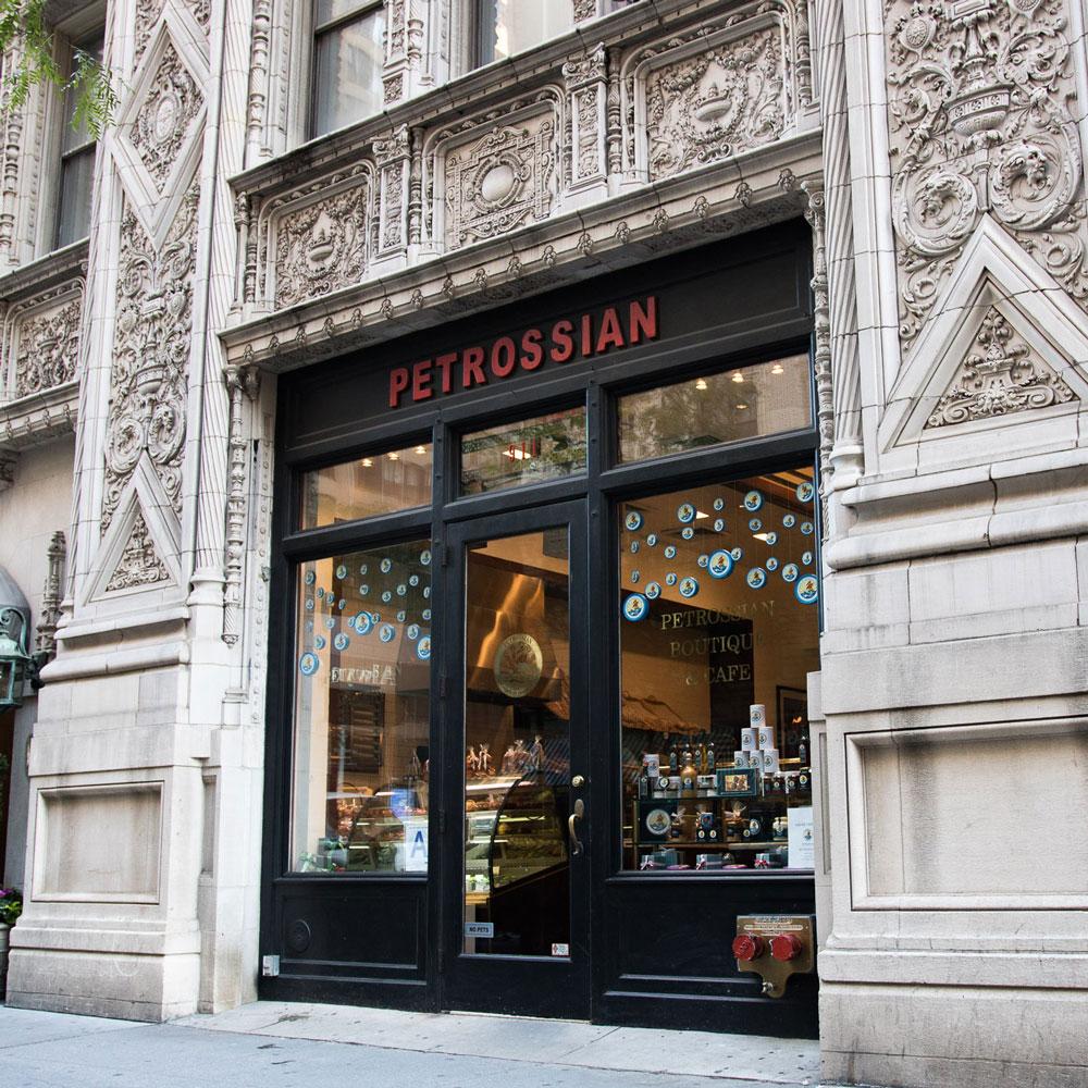 Boutique Petrossian New York