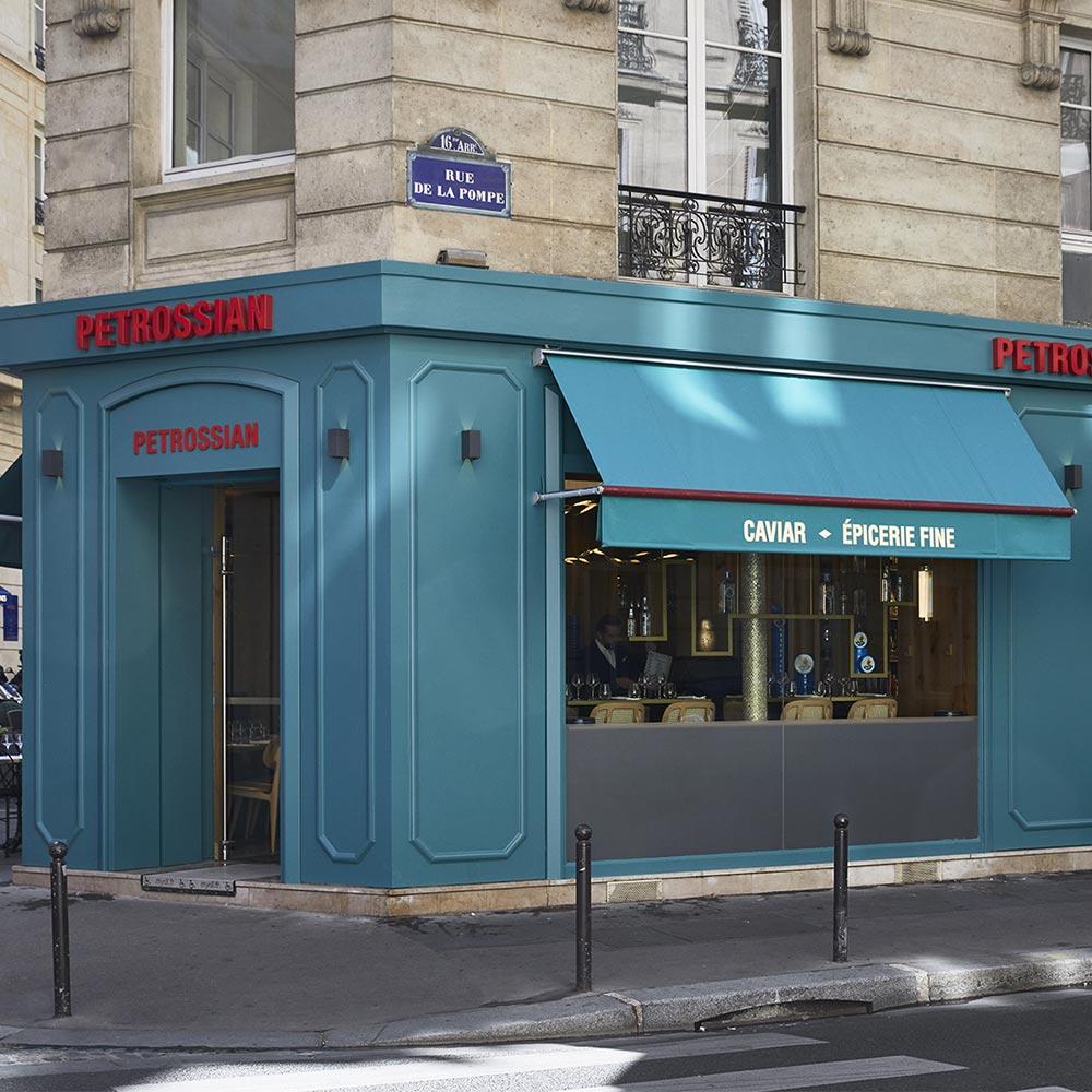 Petrossian-Geschäft Victor Hugo  - Trocadéro/ Tour Eiffel: Adresse und Öffnungszeiten