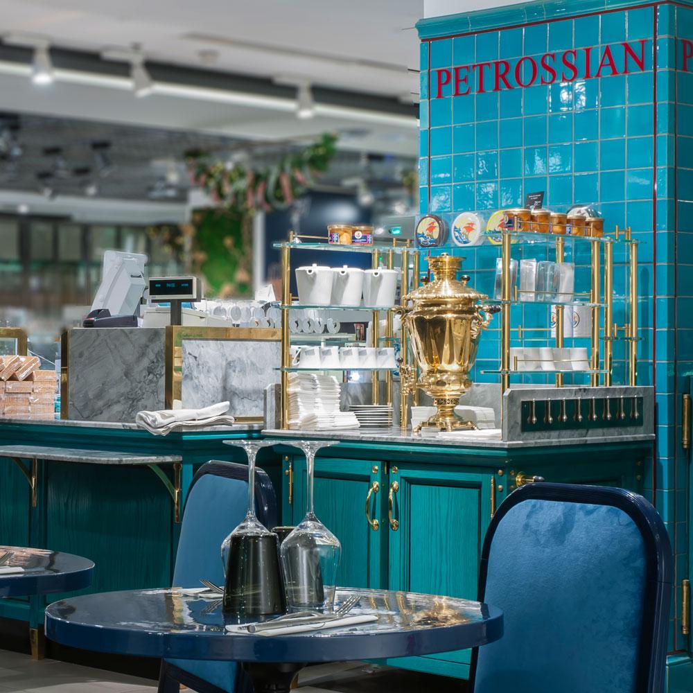 Petrossian-Corner Lafayette Gourmet: Adresse und Öffnungszeiten