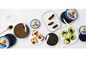 Welke variëteit is geschikt om voor het eerst kaviaar te proeven?