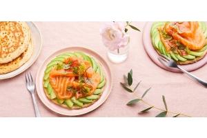 Avocado toast au saumon