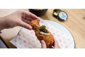 The famous Fried Chicken Caviar recipe by FTG