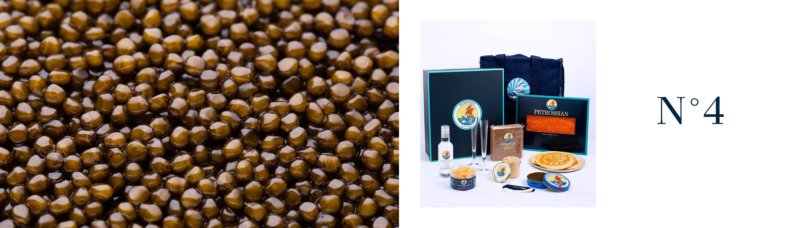 Idée coffret caviar