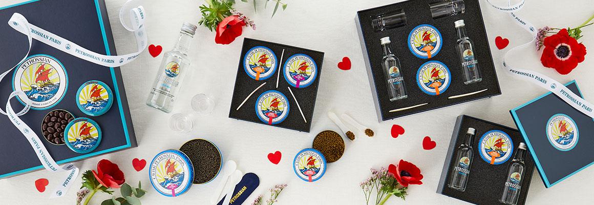 Cadeau Saint Valentin gourmand à partager livraison Belgique