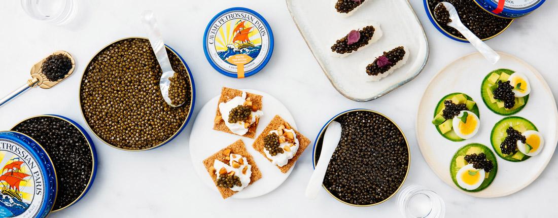 Petrossian Caviars