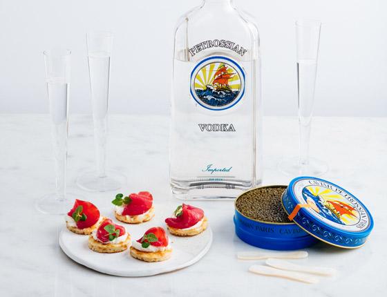 Acompañar el Caviar
