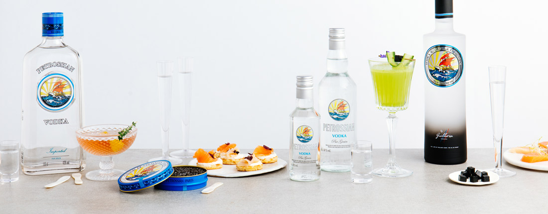 Petrossian Vodkas