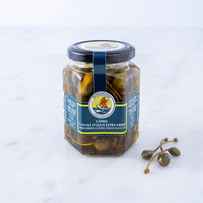 Câpres à l'Huile d'Olive Extra Vierge