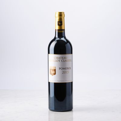 Vin rouge Pomerol 2015 Château Guillot Clauzel