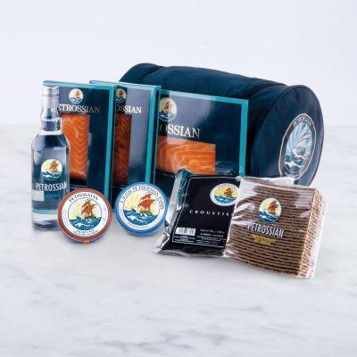 Coffret Dégustation Caviar & Saumon