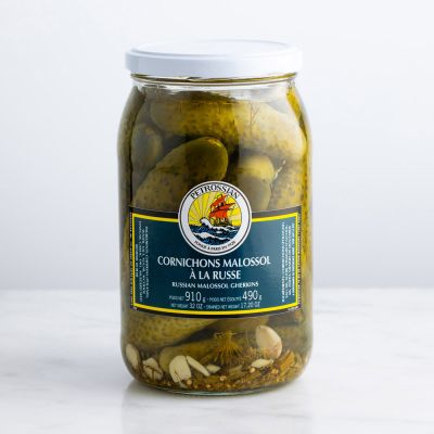 Russian-style Malossol Gherkins