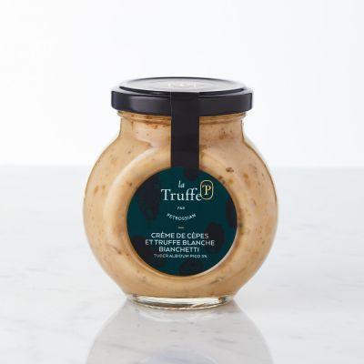 Crème de Cèpes et Truffe Bianchetti