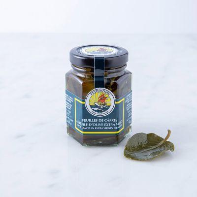Feuilles de Câpres à l'Huile d'Olive Extra Vierge
