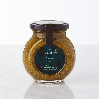 Sauce Pesto et Truffe d'Été