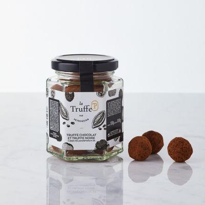 Truffe Chocolat et Truffe Noire