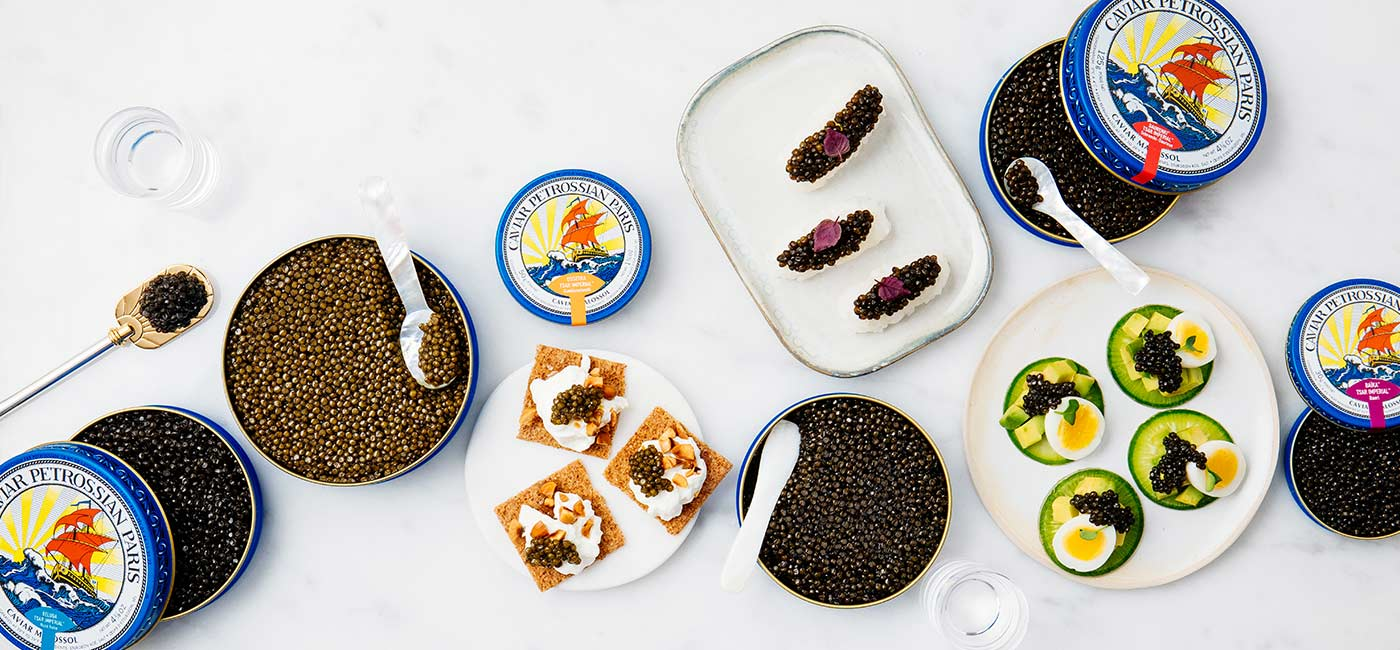 What is the best caviar for your first tasting experience?